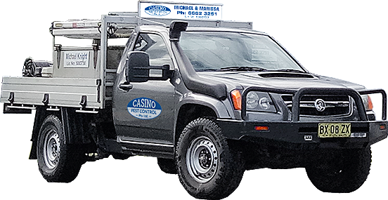 casino pest exterminator vehicle